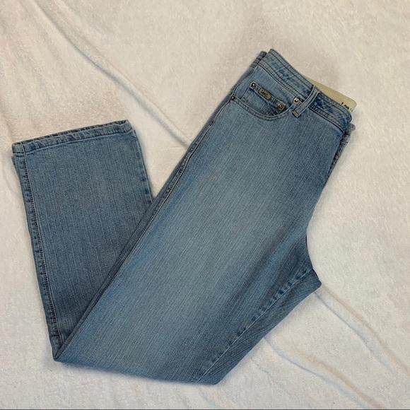 Boys Lee Straight Fit Jeans Size 14//16 NWT Medium Vintage Wash